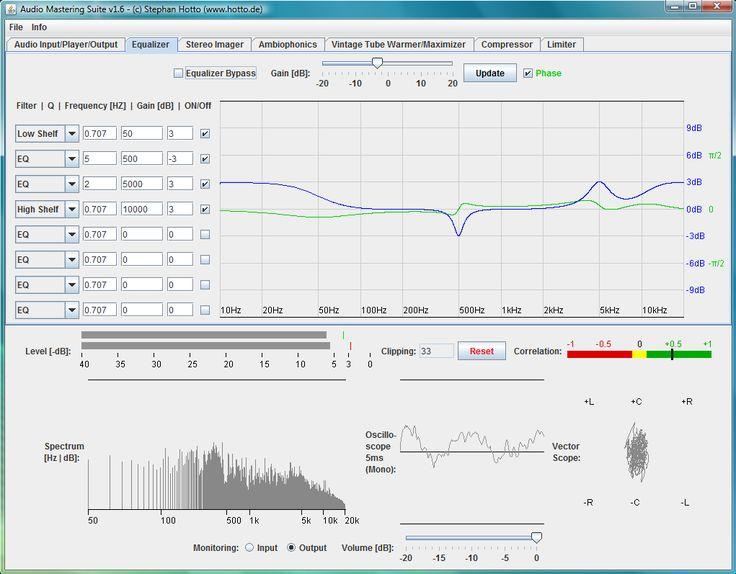 Audio Mastering Suite By Hotto Engineering