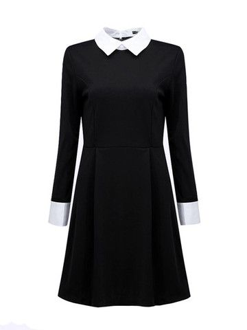 Wednesday Addams Style Dress – Deadly Divine #wednesdayaddams