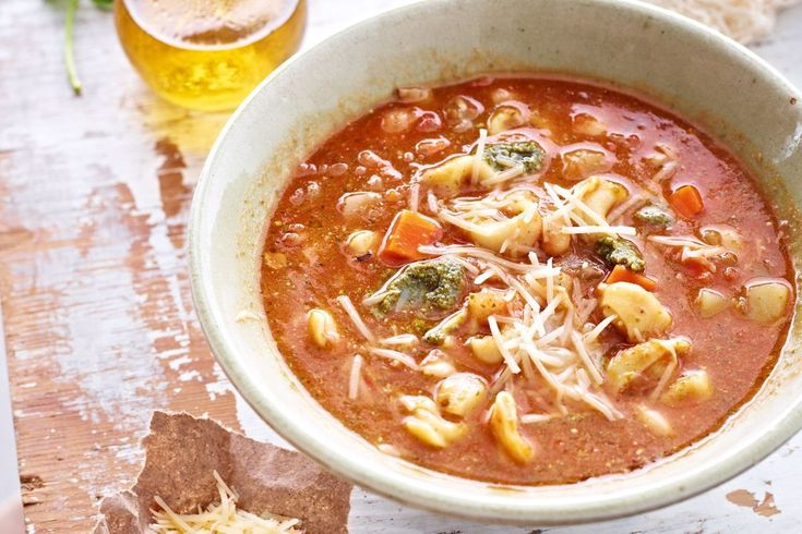 Lighter than the classic minestrone soup, this version is prefect for spring.