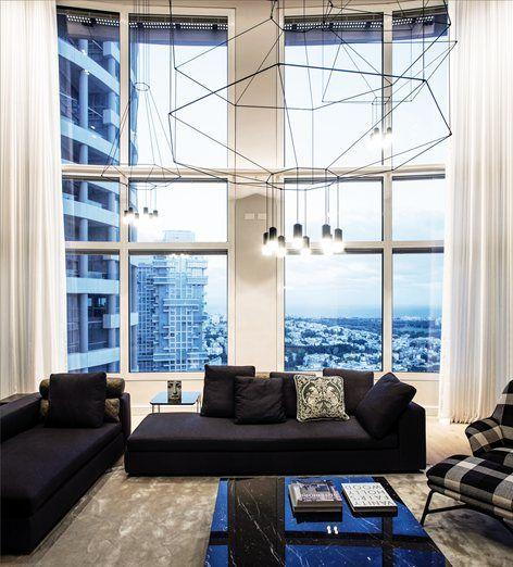 Renovated Apartment at YOO Towers, Tel Aviv, 2016 - Gila Shemie Zakay