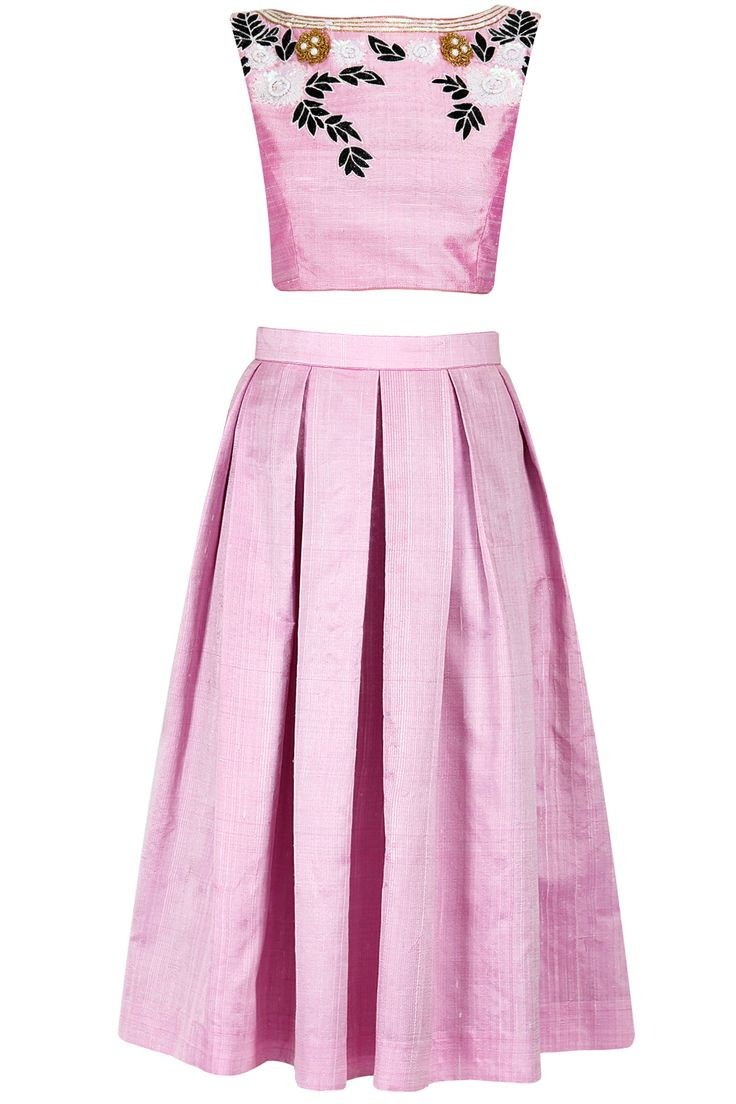 Candy floss midi skirt and crop top set available only at for Wedding dress skirt only