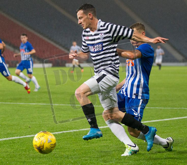Queen's Park's David Galt in action during the IRN-BRU Cup game between Queen's Park and Kilmarnock Colts. P