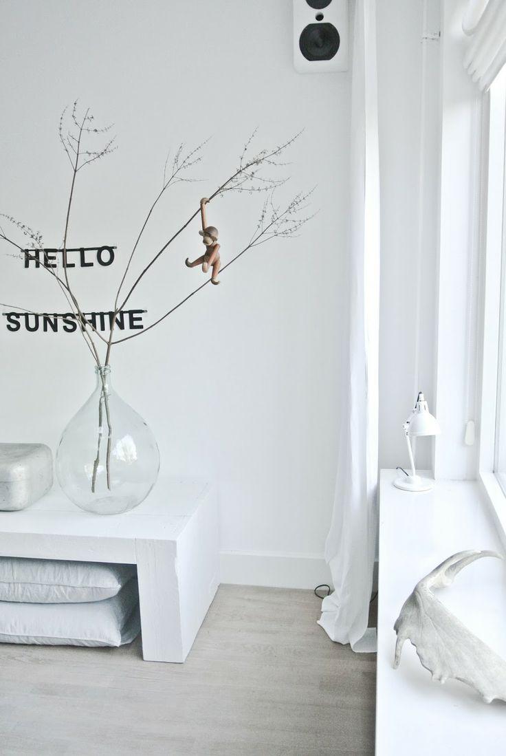 Design klassieker: het aapje van Kay Bojesen in de woonkamer van @Miranda Marrs Lugtenburg! #scandinavian #kaybojesen