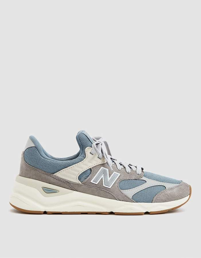 b098e47387 New Balance / X90 Sneaker in Cyclone/Marblehead | Shoes | Sneakers ...