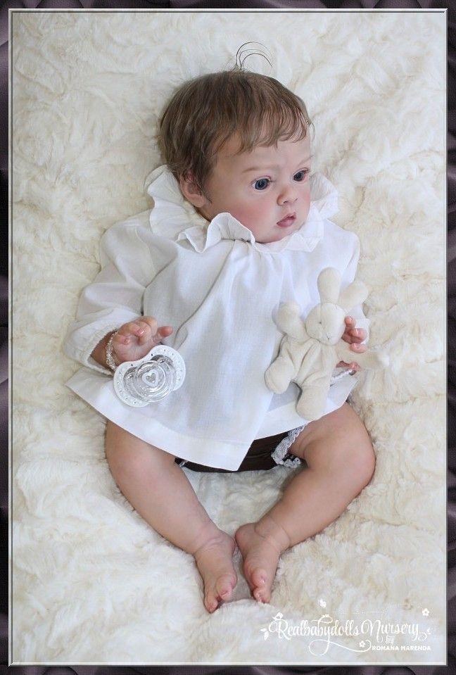 Chubby Baby Girl Tiffany BY Natali Blick Reborn Realbabydolls Nursery | eBay