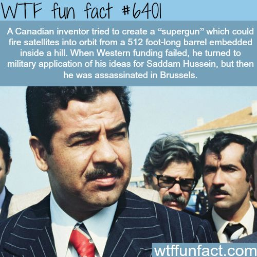 Canadian inventor Gerald Bull - WTF fun facts
