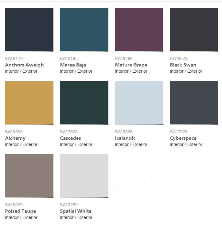 32 best 2017 color trends images on pinterest | color trends