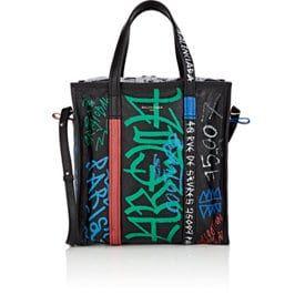Arena Leather Bazar Small Shopper Tote Bag
