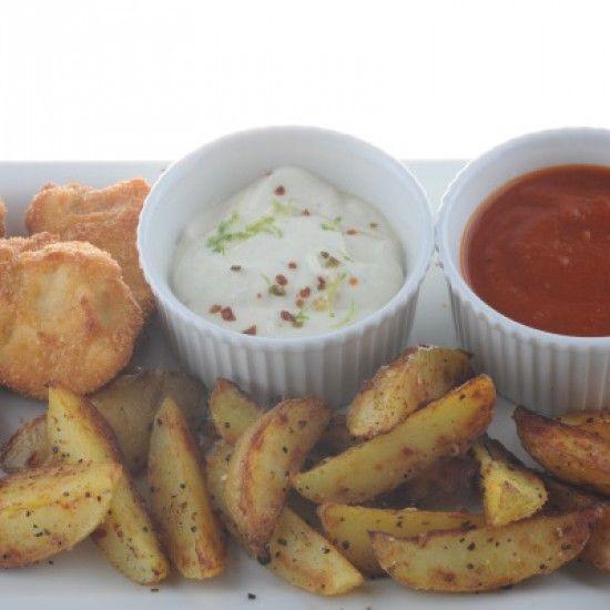 Schuhbecks  Barbecuesauce und Country-Kartoffeln