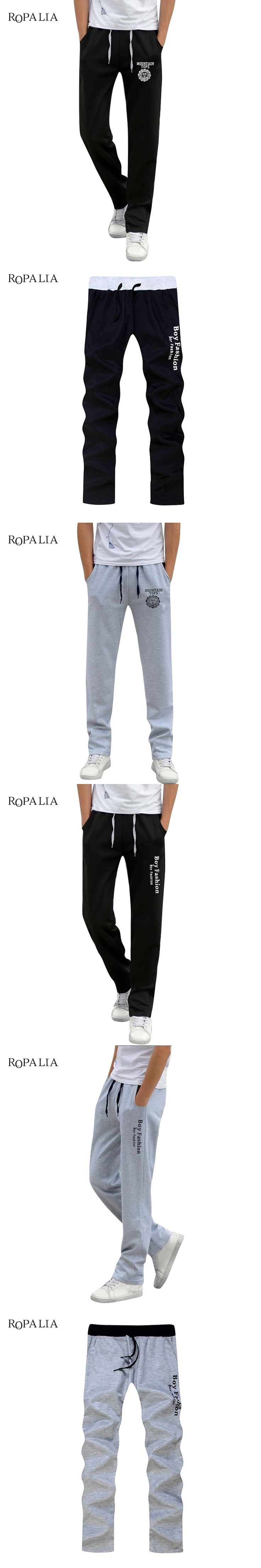 New Summer Street Fashion Men Elastic Waist Pants Men's All-match Loose Solid Soft Cotton Casual Straight Plus Size Long Pants