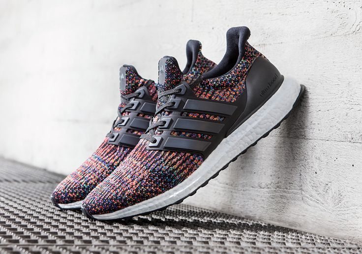 "The adidas Ultra Boost 3.0 ""Multi-color"" releases on 6/28 in Western Europe and on 7/15 in the US."