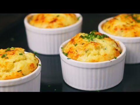 Potato Soufflé is an easy recipe for such a comforting dish perfect for fall tables. Love the way it puffs in the oven and how the steam comes out when you s...