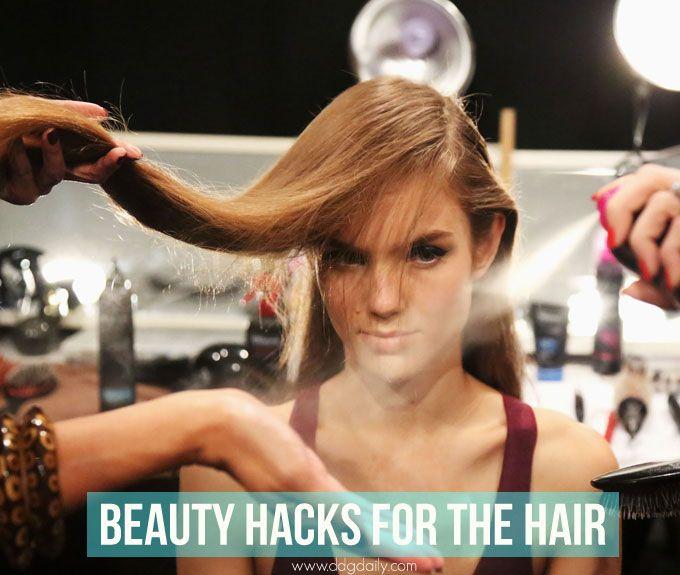 Strand saviours: 7 genius beauty hacks for the hair | Pinterest | Easy hair, Hair style and Hair inspiration