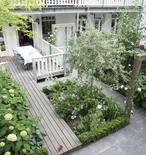 mooie kleine tuin
