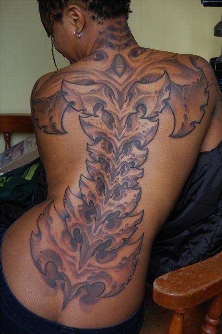Brad wooten bio spine brown girl ink pinterest for White tattoo on black skin