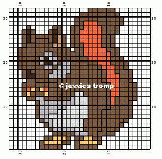 borduren kruissteekpatronen cross-stitching pattern (39)
