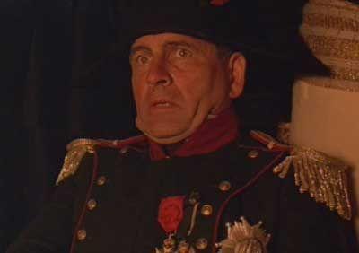 """Sir Ian Holm nato a Goodmayes Il 12 settembre 1931 é un attore inglese che ha interpretato Napoleone nel film """"Time bandits"""" nel 1981"""