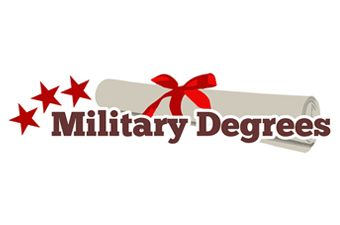Military Degrees  Attractive Logo Designed.