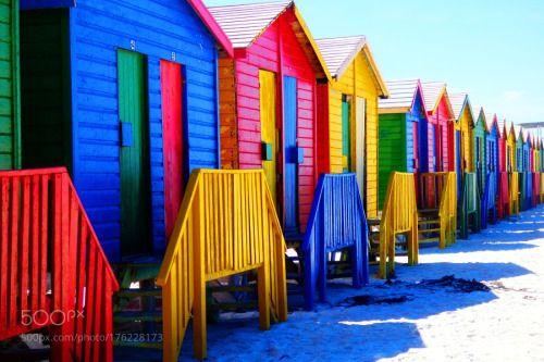 Color-Cape Town by KaanUurlu  travel travelling Cape Town South Africa Color Ocean Muzenberg Kaan Ugurlu Güney Afrika Hint Ocean H
