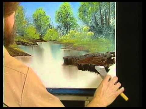 Боб Росс - Учимся рисовать тихую речку (2 сезон)