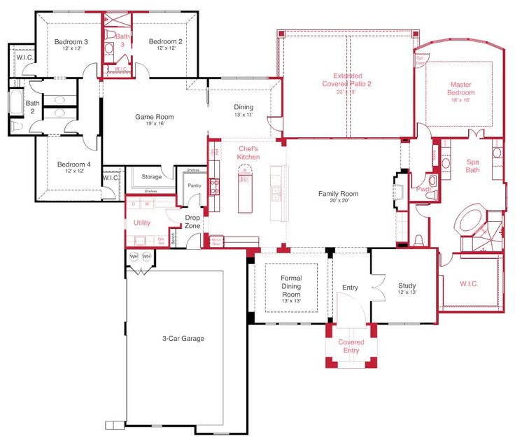 My Favorite House Plan From Scott Felder Homes Have