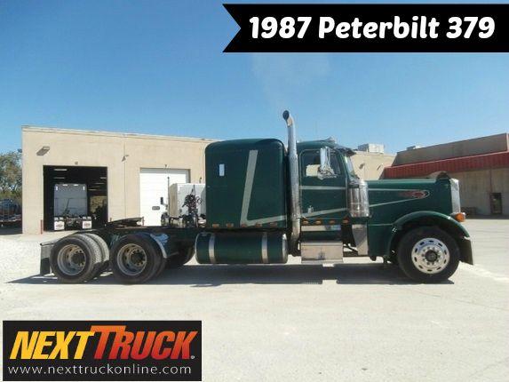 #ThrowbackThursday Check out this 1987 Peterbilt 379. View more #Peterbilt #Trucks at http://www.nexttruckonline.com/search?make=PETERBILT&s-type=truck #Trucking #NextTruck #tbt
