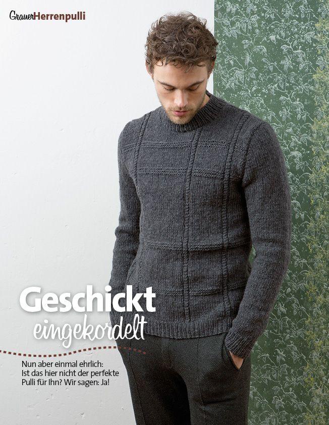 Strickanleitung Herrenpullover Lang Yarns Style Edition 0216