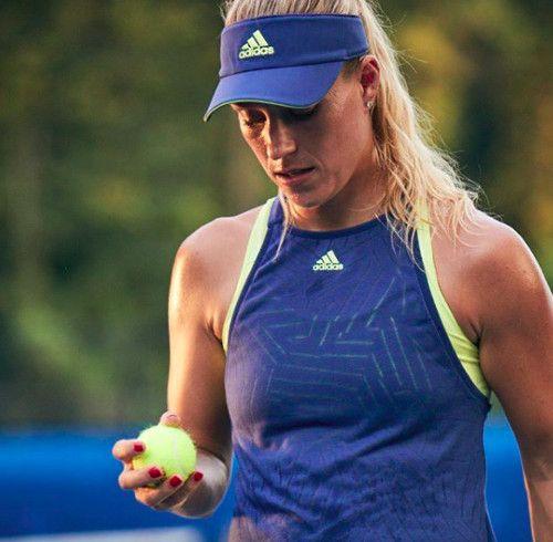 Angelique Kerber's #Adidas Melbourne Burnout Tank Top for Australian Open 2018