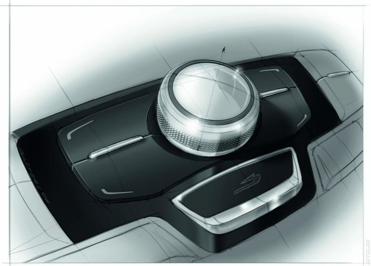 Sketches we like / Digital Sketch / Coloring / Wacom / Transportational / 2011 Audi A7 Sportback