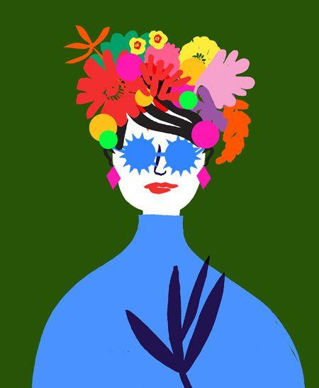 Fashion Illustration - www.luciesheridan.com #Fashion #illustration Festival Look