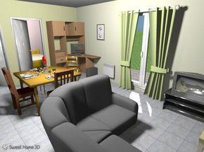 Programa para diseñar casas gratis, Sweet Home 3D Interior