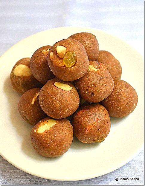 Singhara & Sabudana Laddoo   fasting (Vrat) recipes