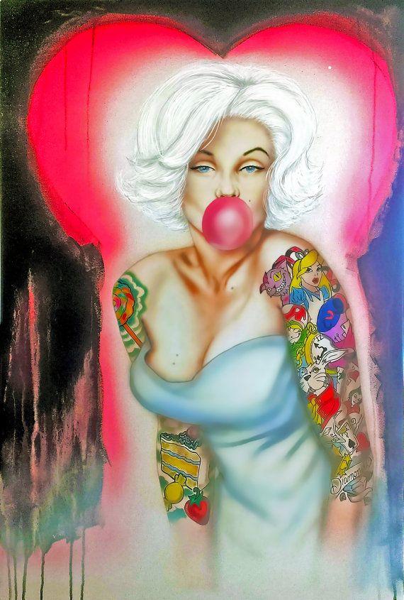 Marilyn Monroe Portrait Marilyn Monroe Painting by ArteDeMarco