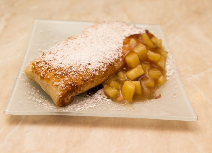 Forró almás pite (mekis) recept