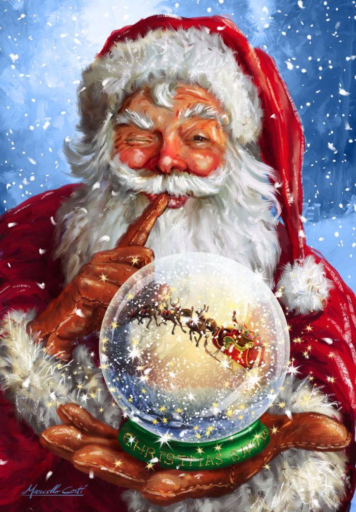 Christmas Snow  -   Marcello Corti