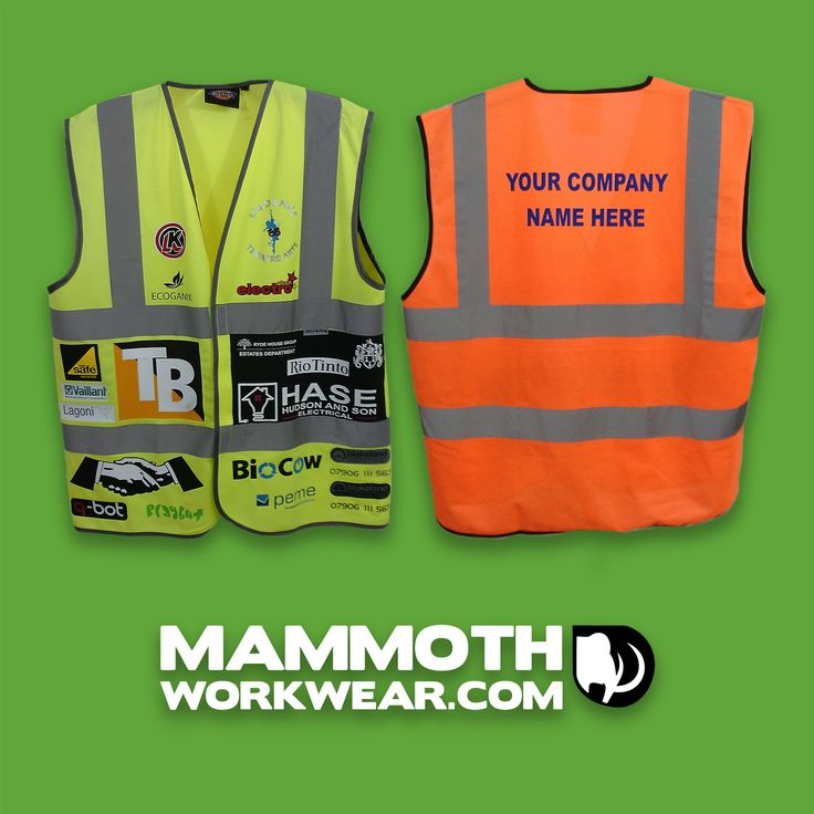 Get your brand noticed - add your logo and/or company name to your uniform/workwear. It's easy to get done and it makes an excellent first impression.