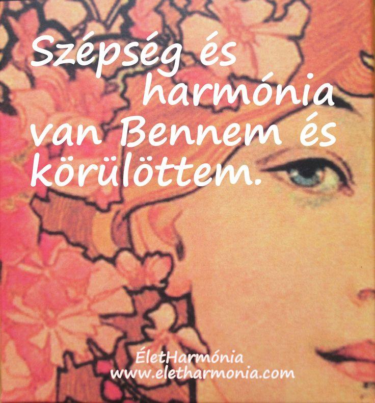szépség és harmónia