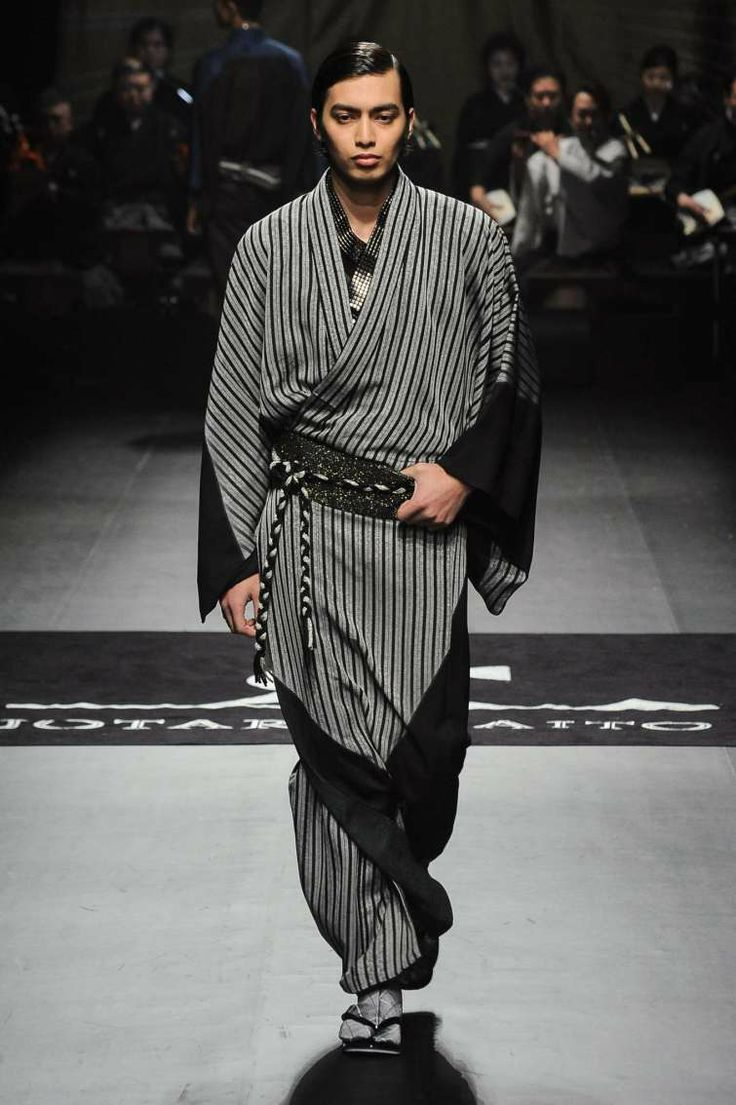 Men kimono fashion