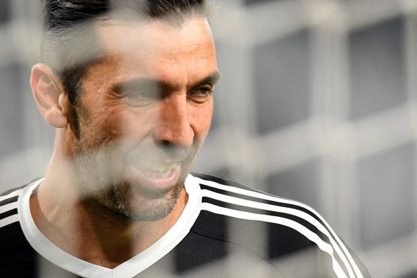 Gianluigi Buffon of Juventus looks on before the Serie A match between Juventus and FC Crotone at Allianz Stadium on November 26, 2017 in Turin, Italy.