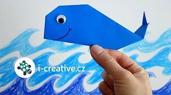 Рыба оригами, origami fish. КАК сделать Рыбу из бумаги. - YouTube