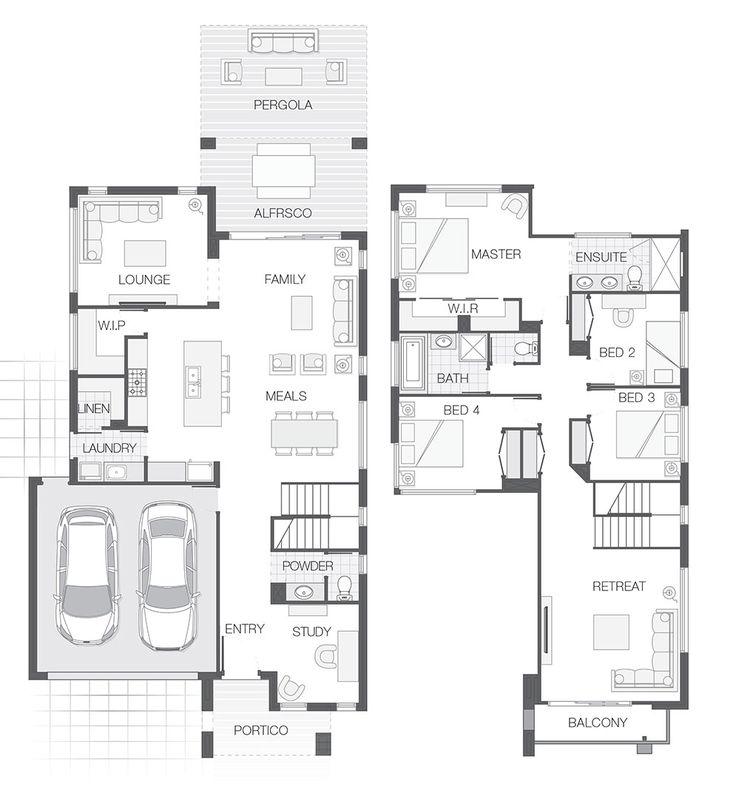 301.3m2 | Double Storey Home Design | 4 Bedrooms, 2.5 Bathrooms, 2 Car Garage