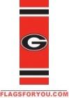 "Georgia Bulldogs Post Banner 30"" x 11"""
