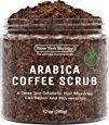 Amazon.com : 100% Natural Arabica Coffee Body Scrub 12 oz with Organic Ingredients - Best for Stretch Marks, Acne, Anti Cellulite
