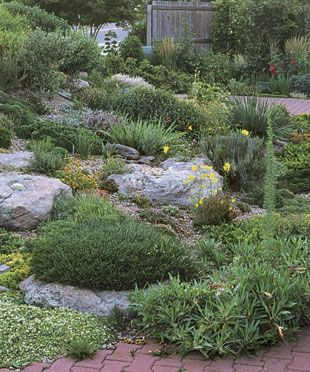 Rock Garden Primer: Start with a slope, fine tune your soil, and add plants that merit a closer look. Read the full article at http://www.finegardening.com/design/articles/rock-garden-primer.aspx