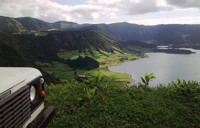 4x4 adventure in Ponta Delgada.  41 days!!