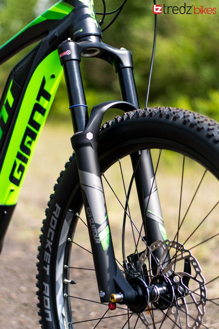 2017 Giant Full E+ Electric Mountain Bike Review | Tredz Bikes