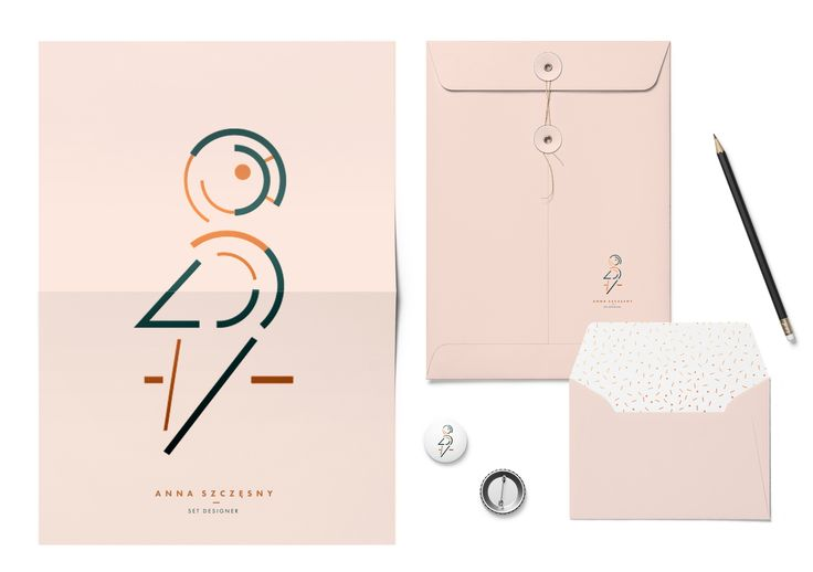 prints materials designed by Magdalena Lapinska for set designer Anna Szczesny