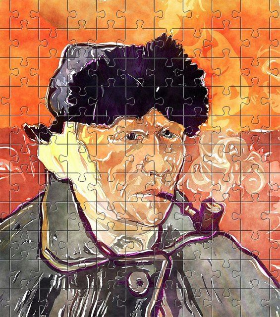 free jigsaw puzzle online art,painting,man