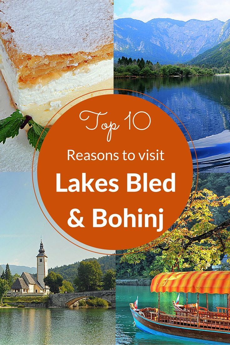 Slovenia is one of the most beautiful countries i have ever visited. Two places that I believe are a real 'must visit' are Lake Bled and the lesser known but some say even more lovely, Lake Bohinj. Here are my top 10 reasons why....