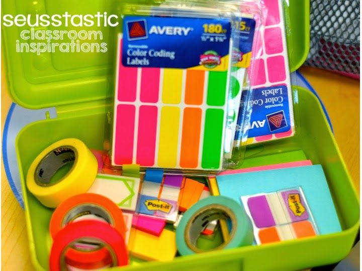 Seusstastic Classroom Inspirations: Bright Idea for Guided Reading/Small Group Table